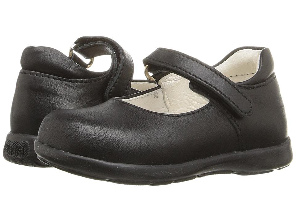 Primigi Kids - Andes (Toddler) (Black Nappa) Girl's Shoes