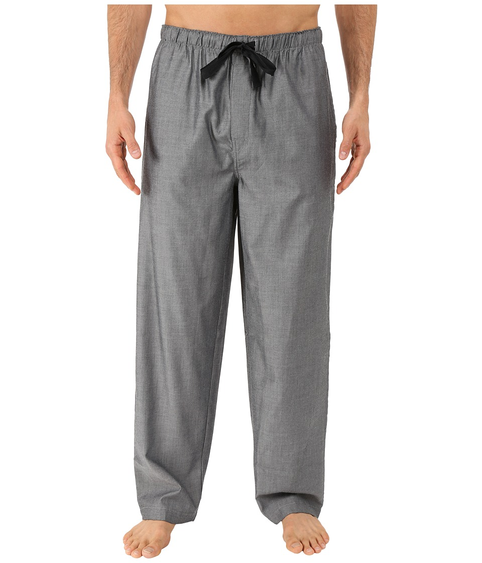 Jockey - Sleep Pants (Black/White Crossdye) Men's Pajama