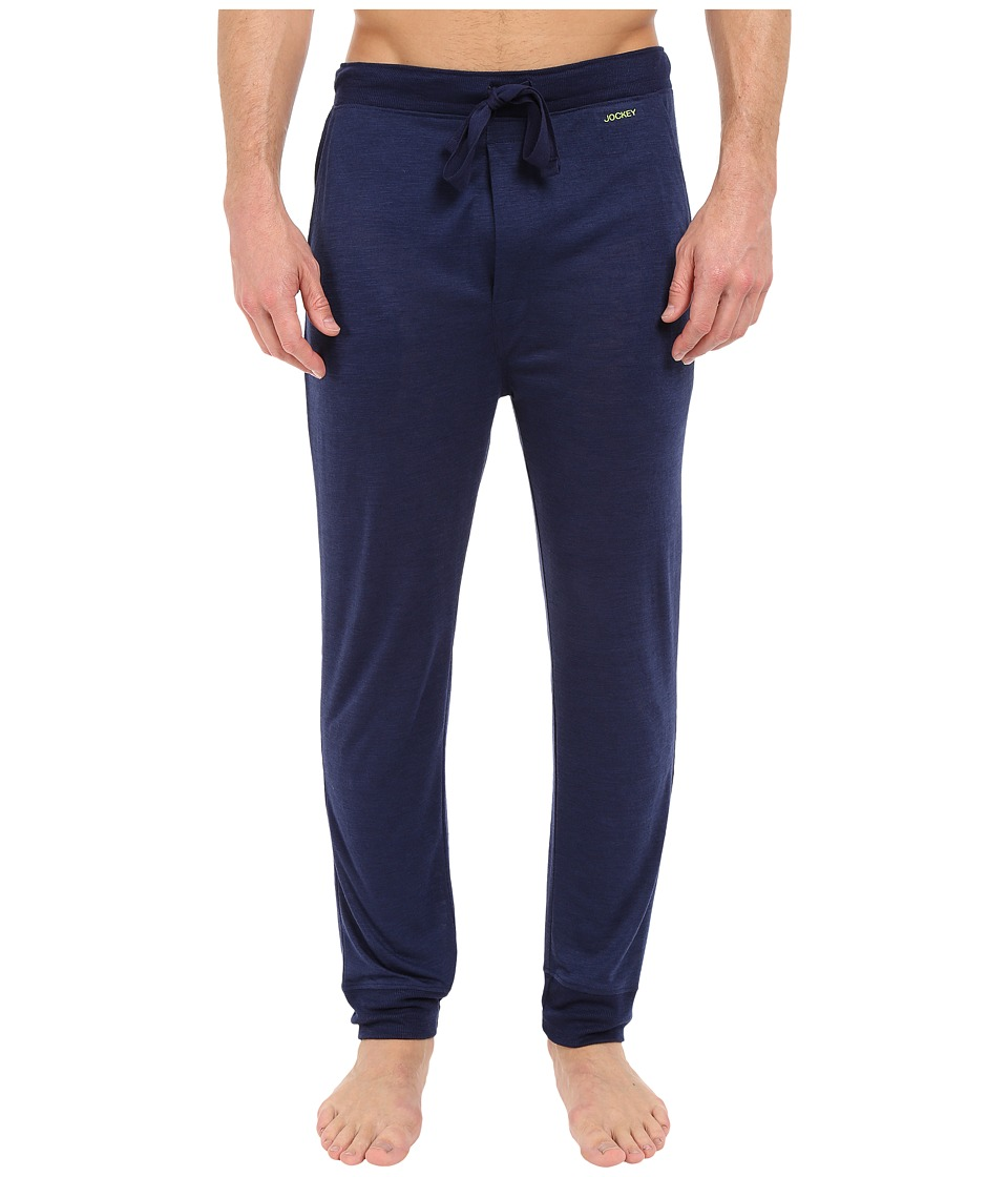 Jockey - Jogger Lounge Pants (Navy) Men's Pajama