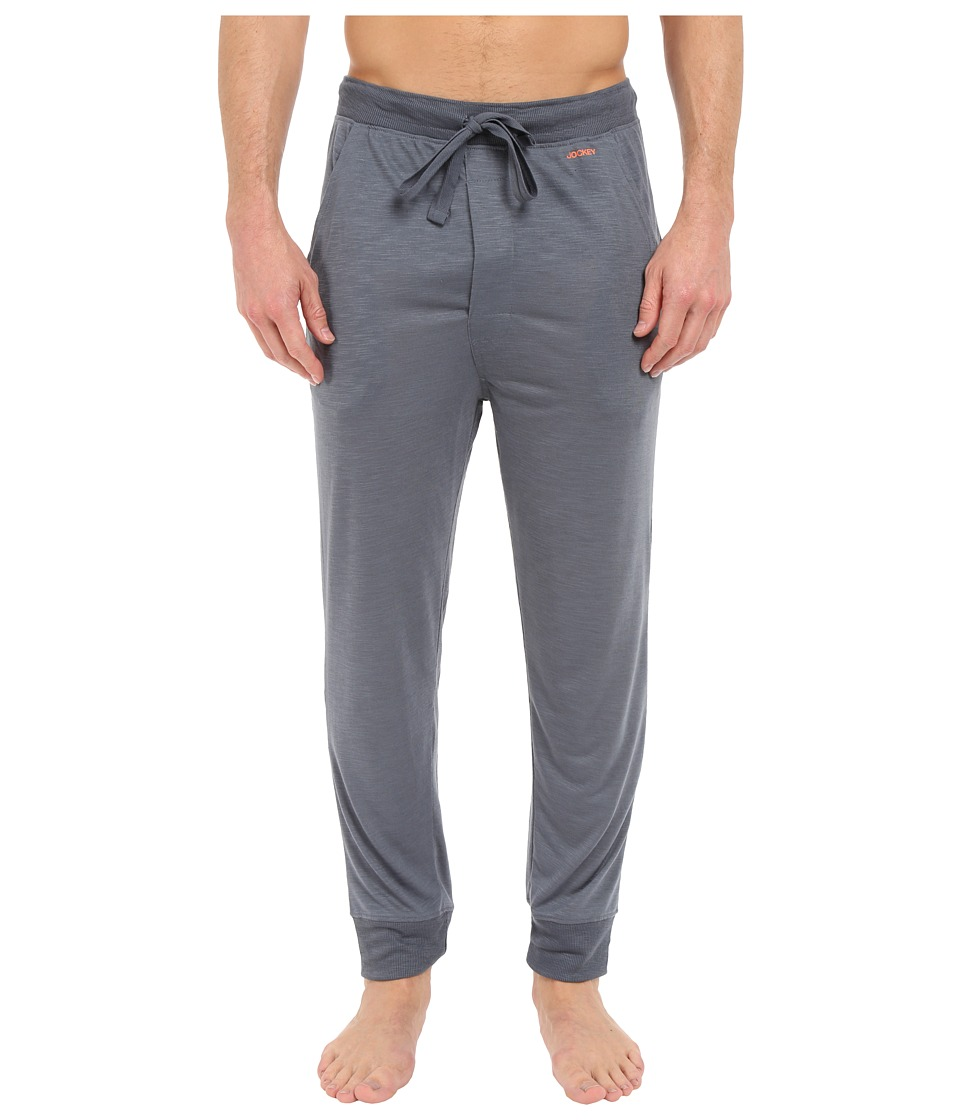 Jockey - Jogger Lounge Pants (Grey) Men
