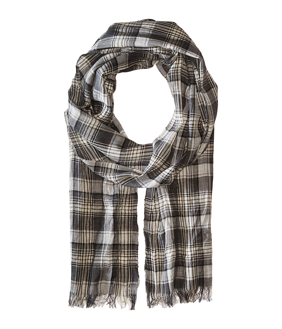 John Varvatos Star U.S.A. - Plaid Scarf (Loden) Scarves