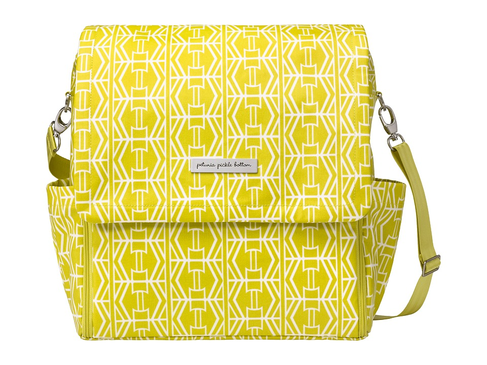petunia pickle bottom - Glazed Boxy Backpack (Electric Citrus) Diaper Bags