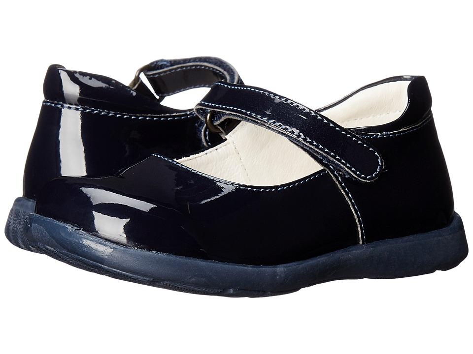 Primigi Kids - Andes (Toddler/Little Kid) (Blue Patent) Girls Shoes