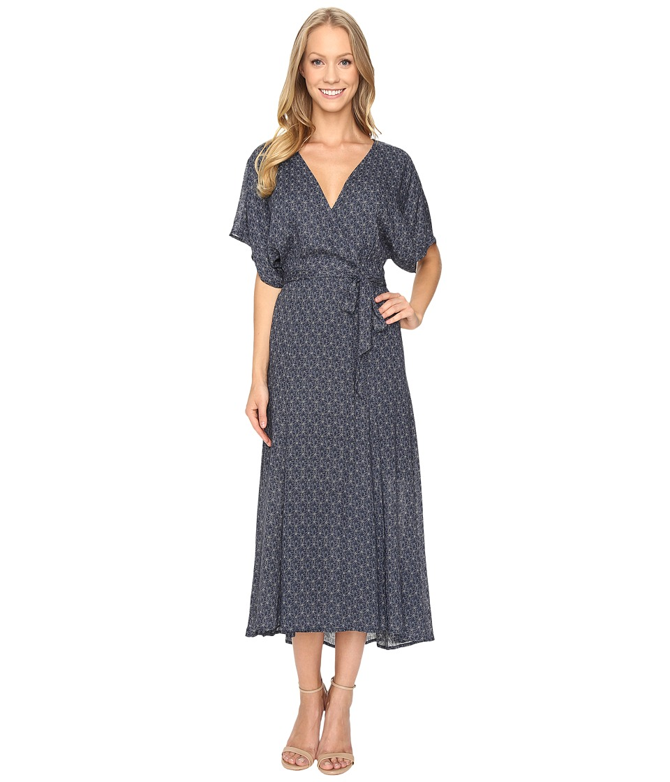 Sanctuary - Mischa Midi Dress (Indigo Mandala) Women's Dress