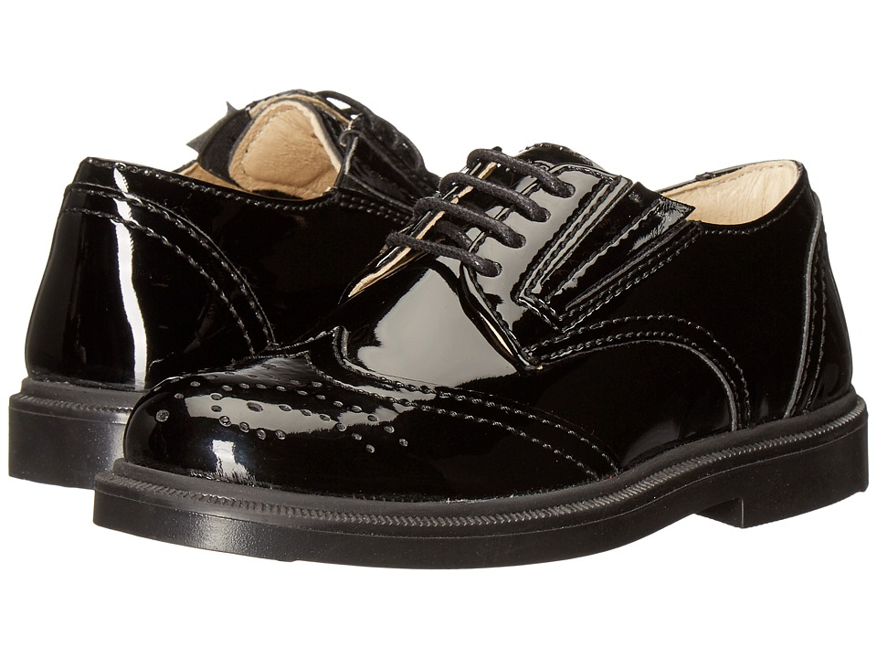 Primigi Kids - Jaluit-E (Little Kid) (Black Patent) Boys Shoes
