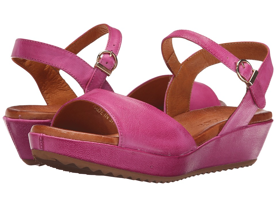 Sesto Meucci - 325 (Fuchsia Cesa Kid) Women's Wedge Shoes