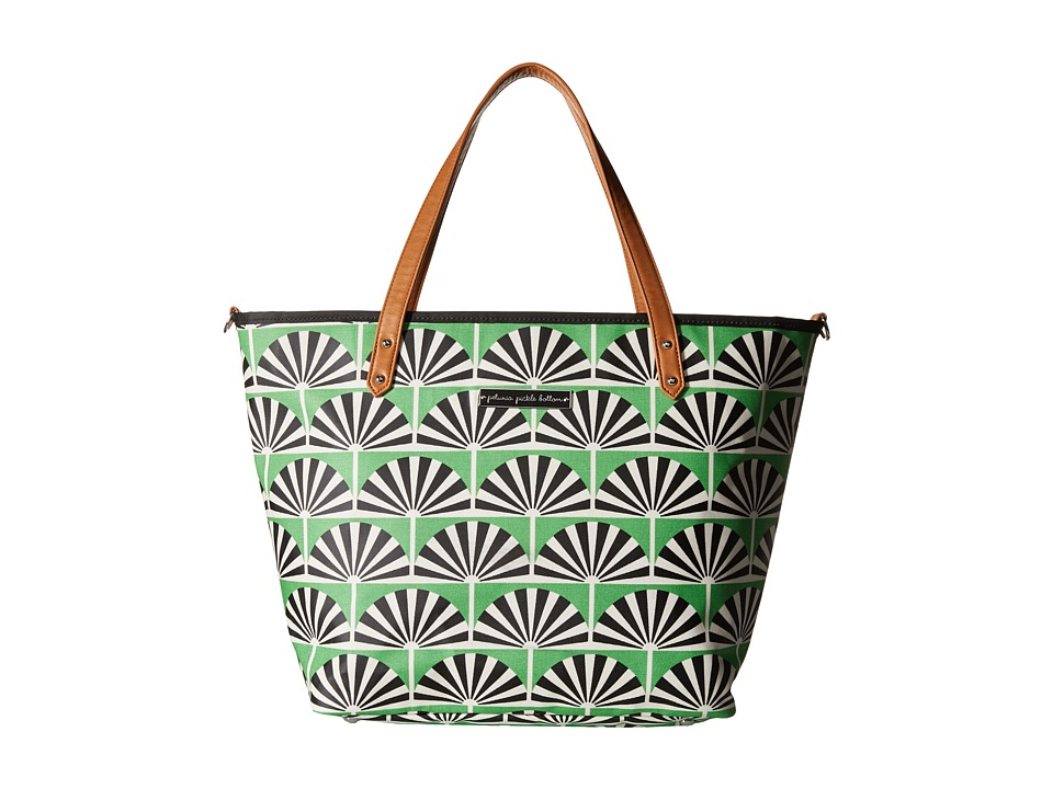 petunia pickle bottom - Glazed Downtown Tote (Playful Palm Springs) Tote Handbags
