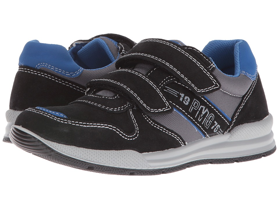 Primigi Kids - Dinny (Big Kid) (Black) Boy's Shoes