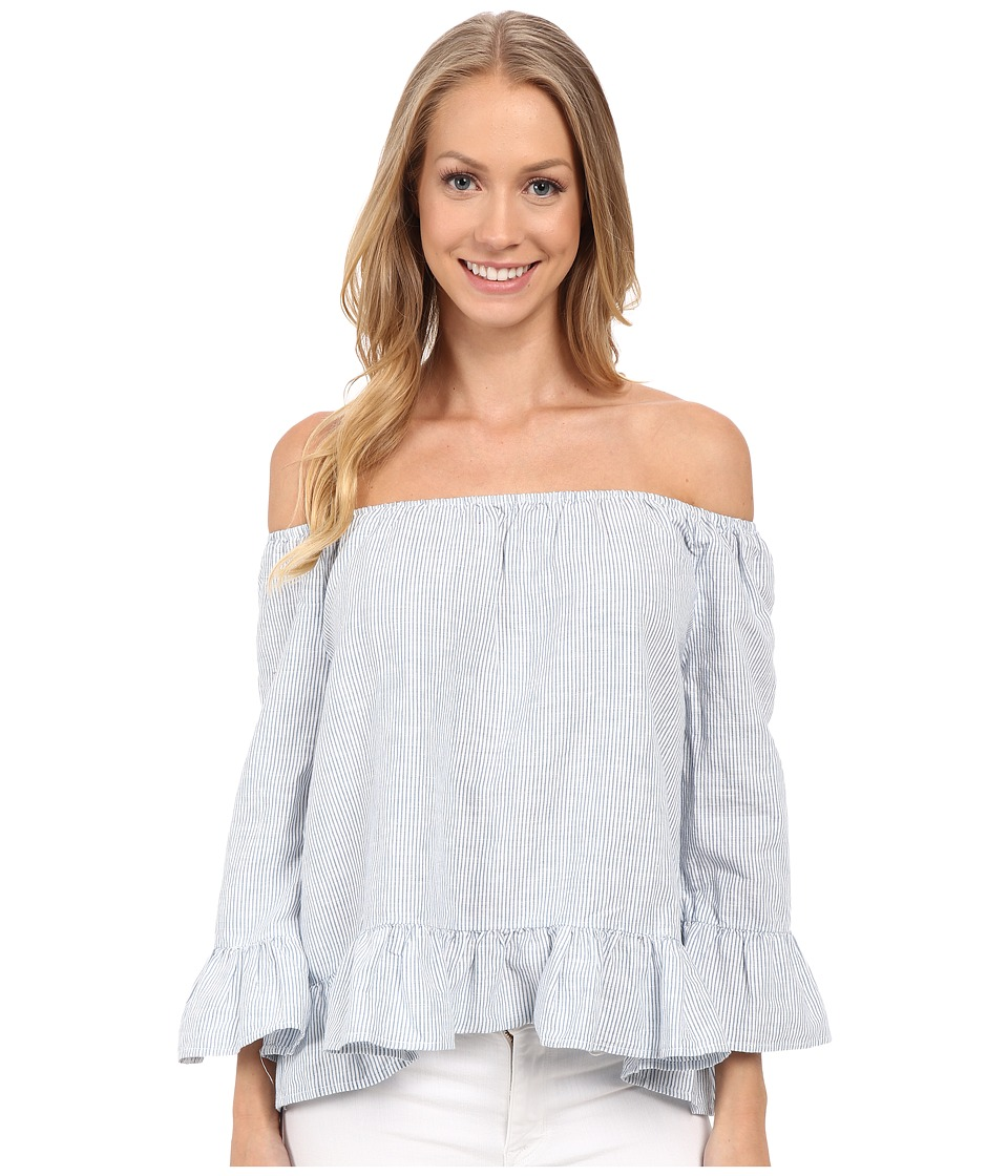 Sanctuary - Julia Top (Sunbleached Blue) Women's Clothing