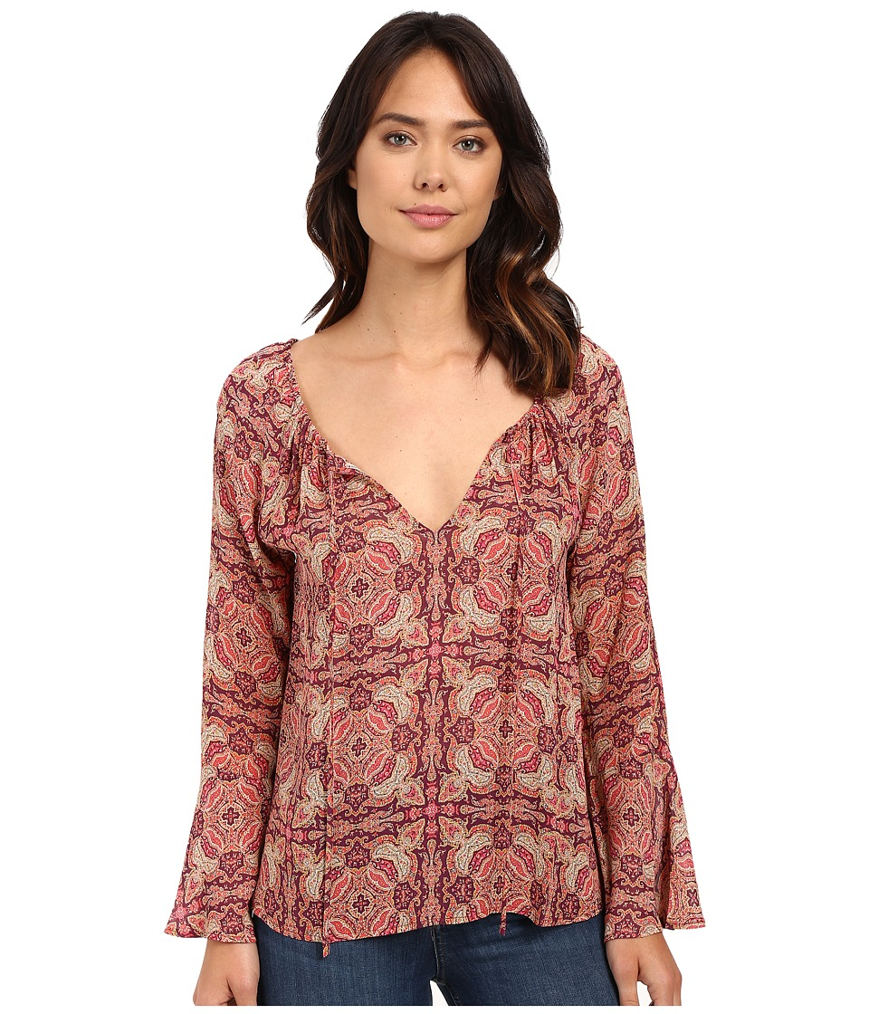 Sanctuary - Lyric Boho Top (Sunset Boho) Women's Clothing