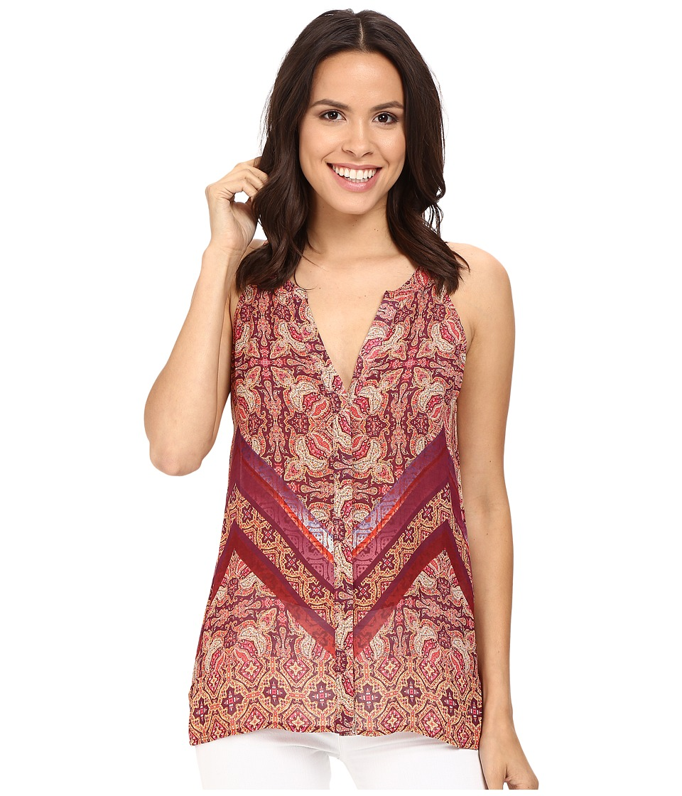 Sanctuary - Border Shell Top (Sunset Boho) Women's Clothing