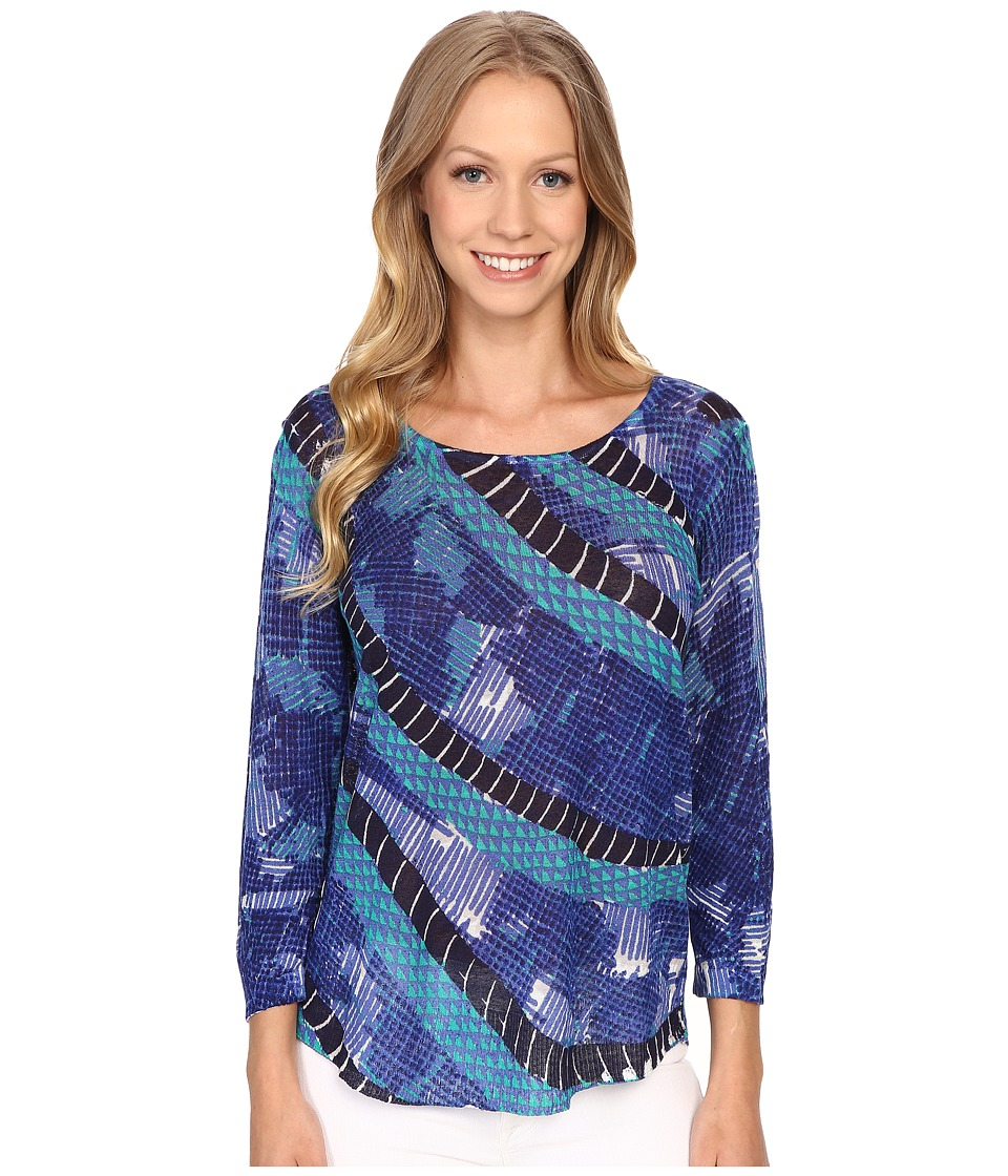 NIC+ZOE - Coastal Top (Multi) Women's Clothing