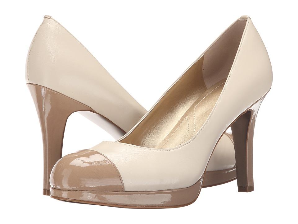 Tahari - Laura (Ivory/Toast) Women's Shoes