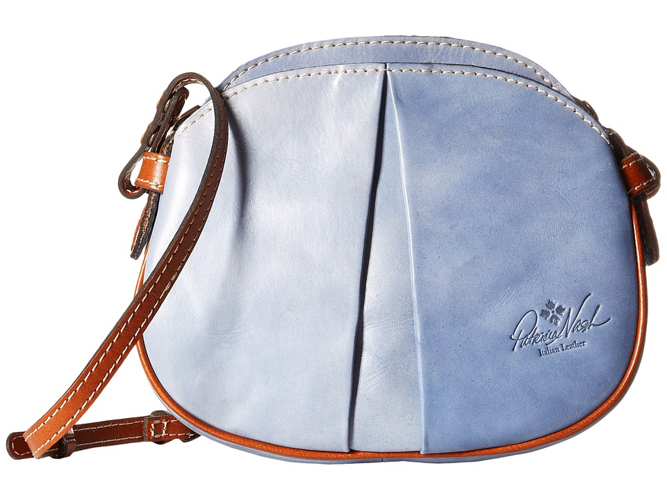 eb7b9af9f ... UPC 887986043357 product image for Patricia Nash - Chania Crossbody  (Medium Blue) Cross Body