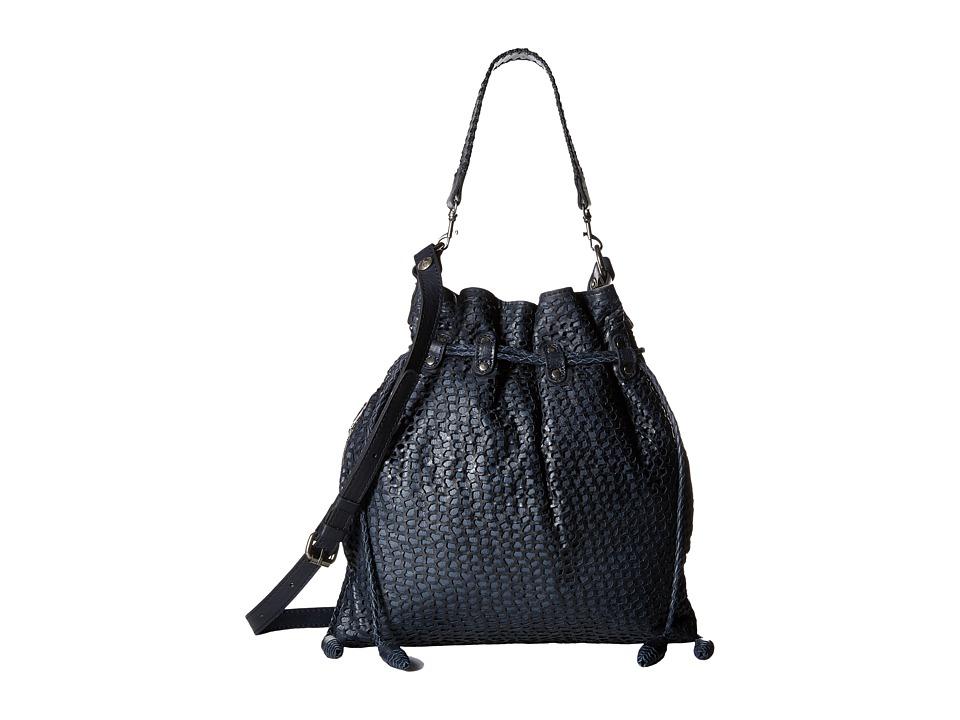 Patricia Nash - Caffarelli Large Drawstring (Navy) Drawstring Handbags