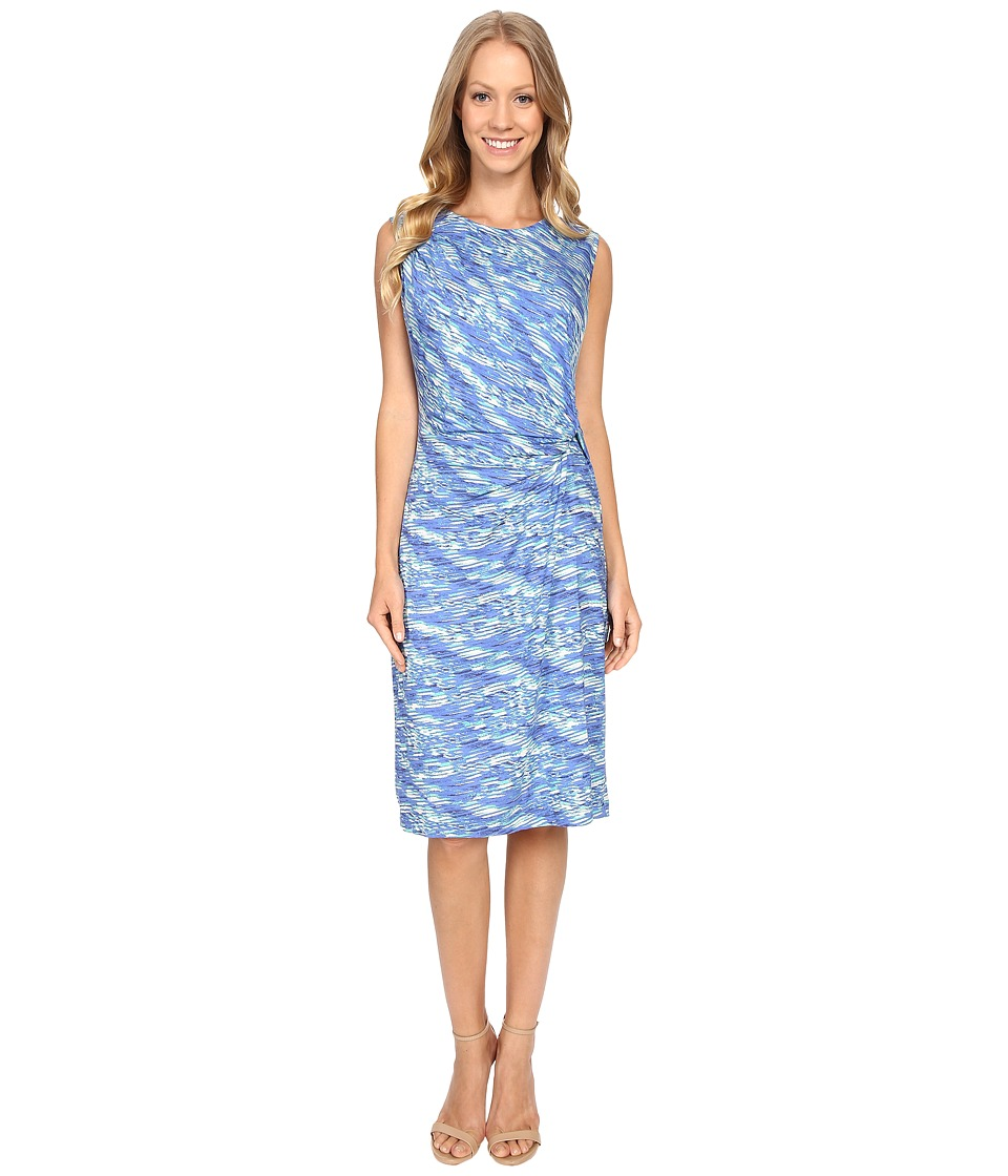 NIC+ZOE - Water Waves Twist Dress (Multi) Women's Dress