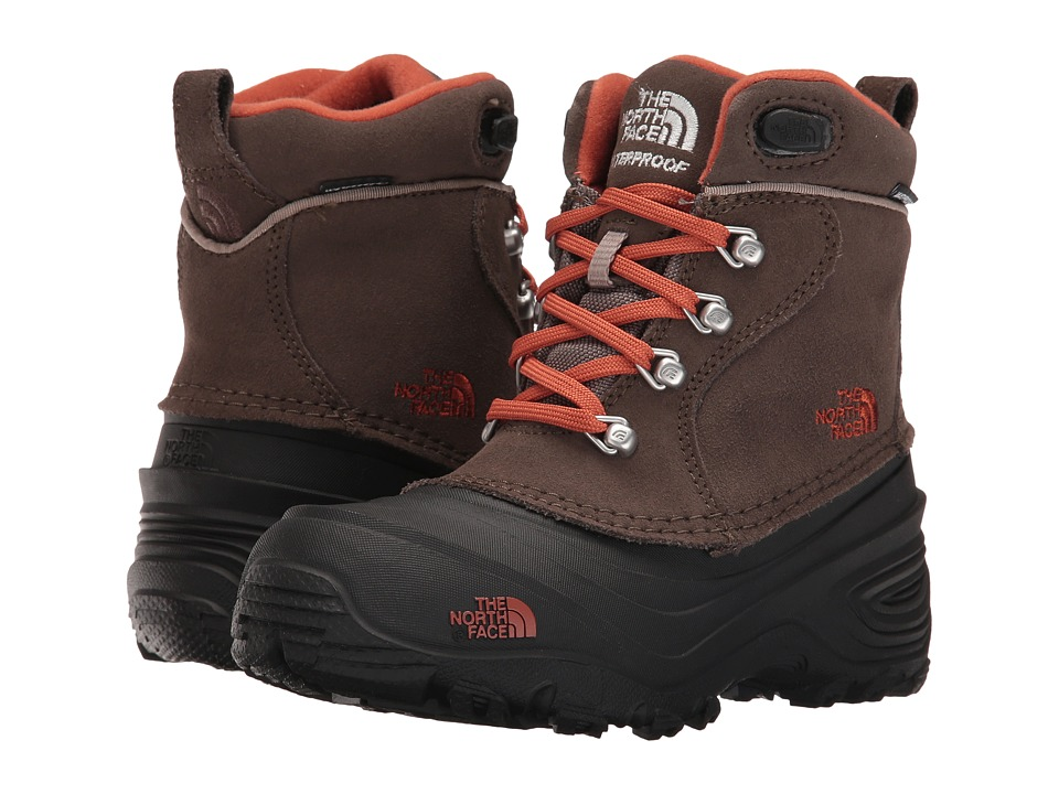 The North Face Kids - Chillkat Lace II (Toddler/Little Kid/Big Kid) (Mud Pack/Orange) Boys Shoes