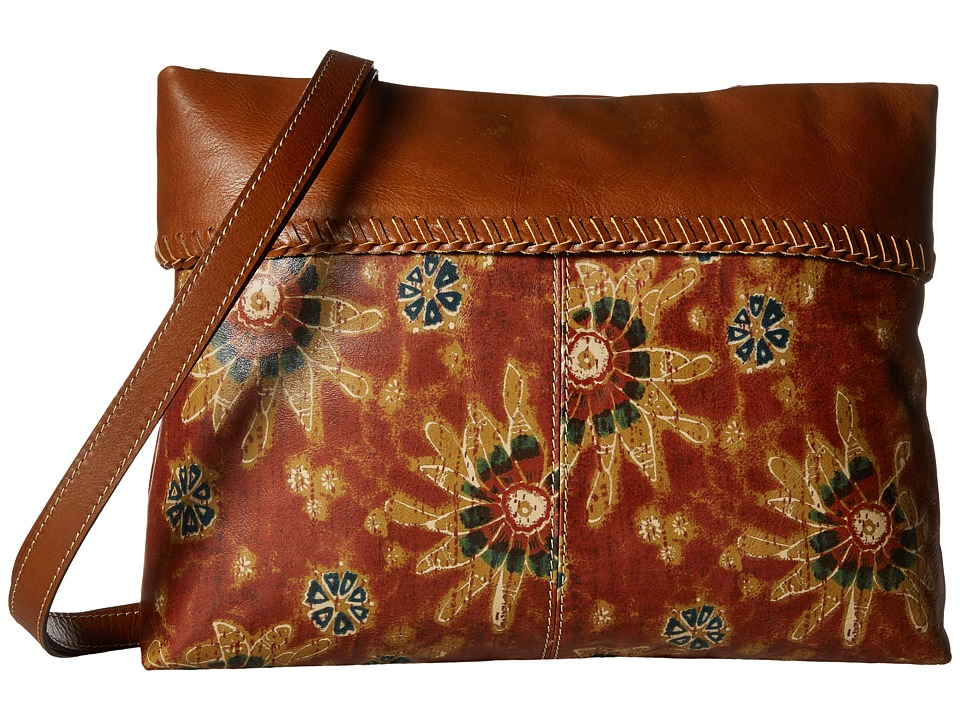 Patricia Nash - Valente Cuff Tote (70's Revival Large Print) Tote Handbags
