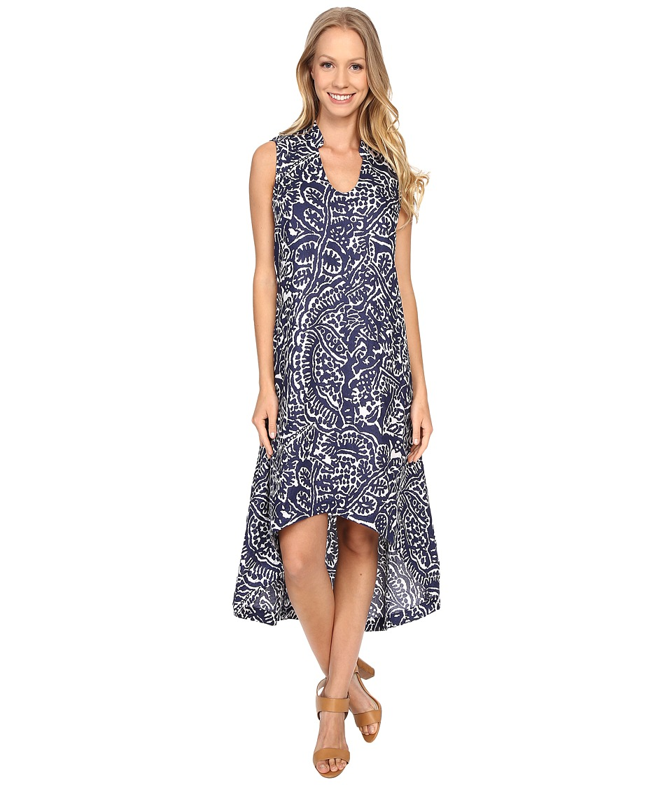 NIC+ZOE Seacoast Linen Dress (Abyss) Women
