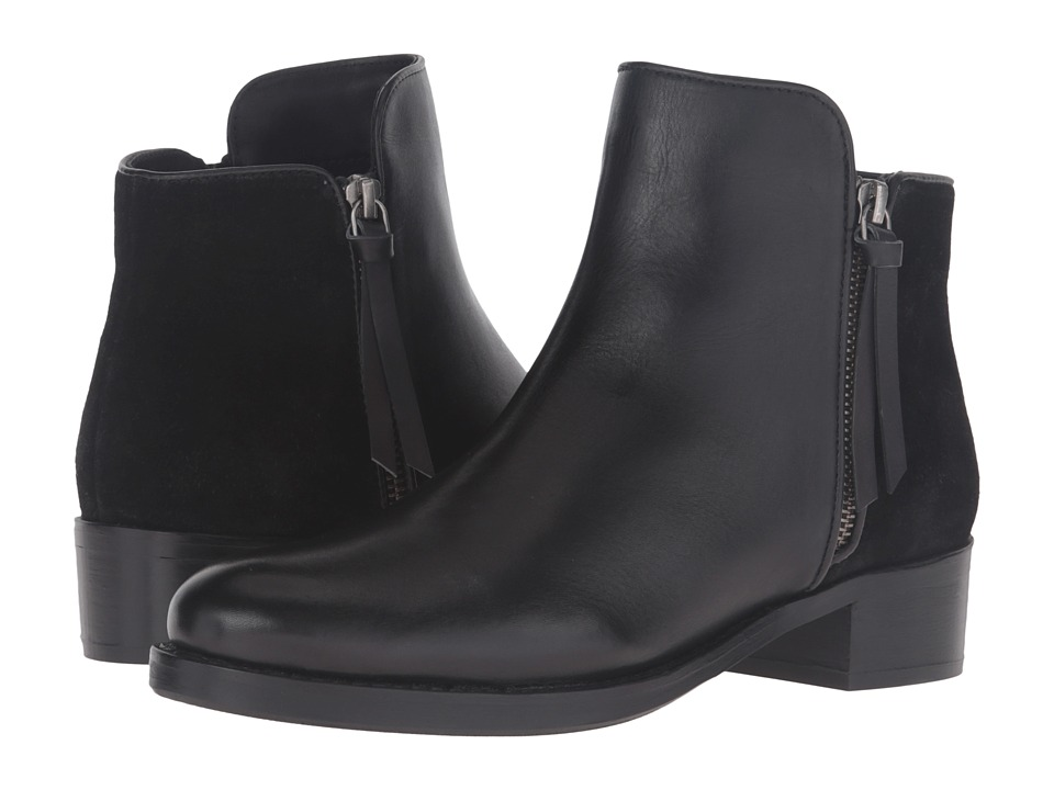 Dune London - Pryme (Black Leather) Women's Pull-on Boots