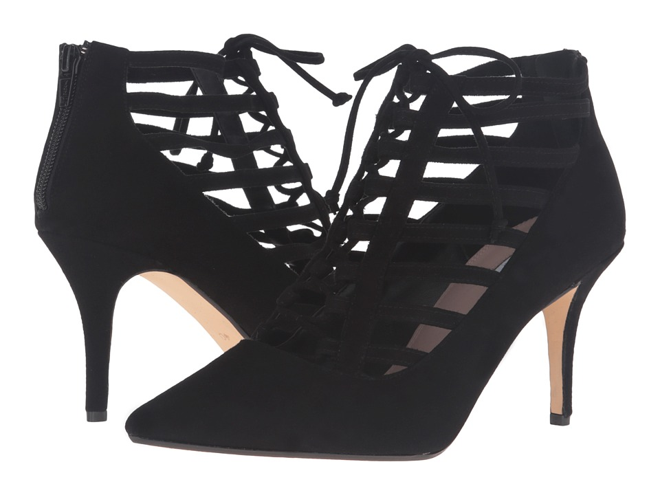 Dune London - Amma (Black Suede) High Heels