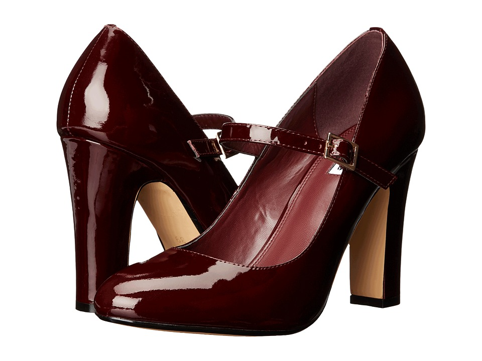 Dune London - Audries (Burgundy Patent) High Heels