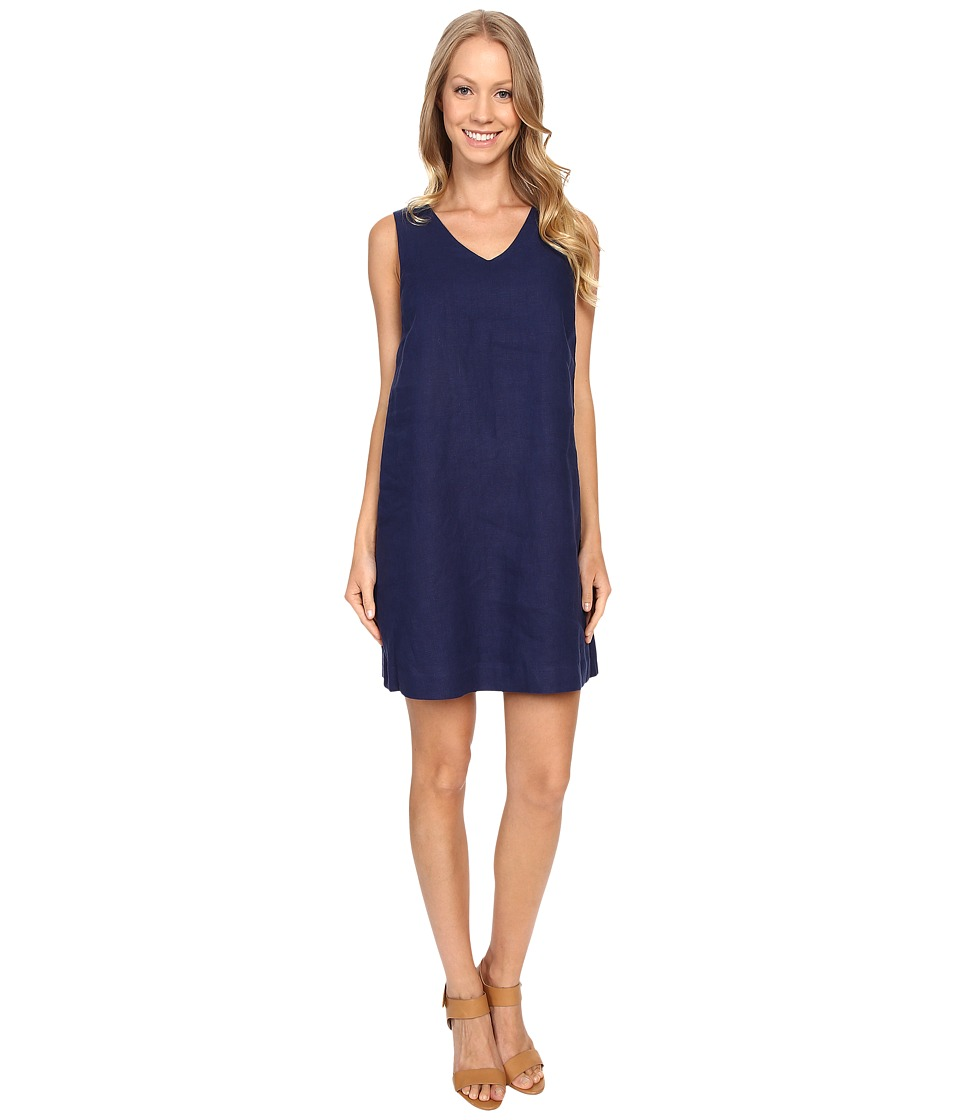 NIC+ZOE Everyday Linen Dress (Abyss) Women