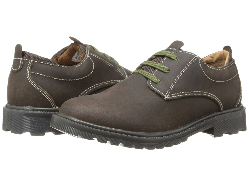 Florsheim Kids - Gravel Ox Jr. (Toddler/Little Kid/Big Kid) (Brown Crazy Horse) Boy's Shoes
