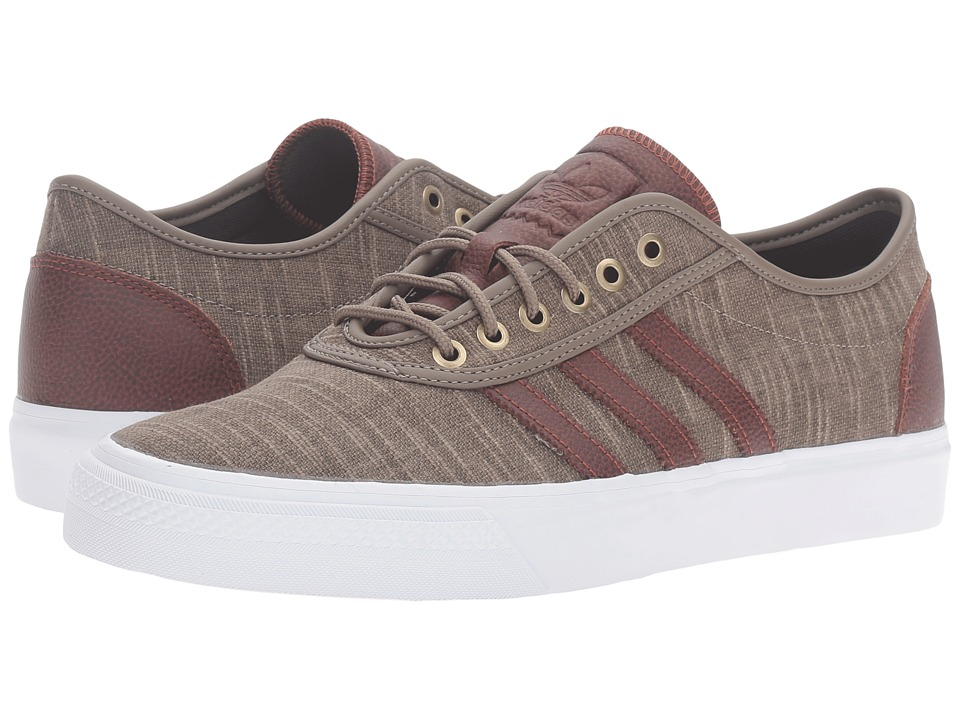 adidas Skateboarding - Adi-Ease Classified (Simple Brown/Auburn/White) Men's Skate Shoes