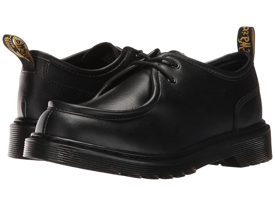Dr. Martens Kid's Collection - Hambleton (Big Kid) (Black Leather) Boys Shoes