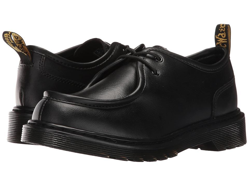 Dr. Martens Kid's Collection - Hambleton (Big Kid) (Black Leather) Boys Shoes