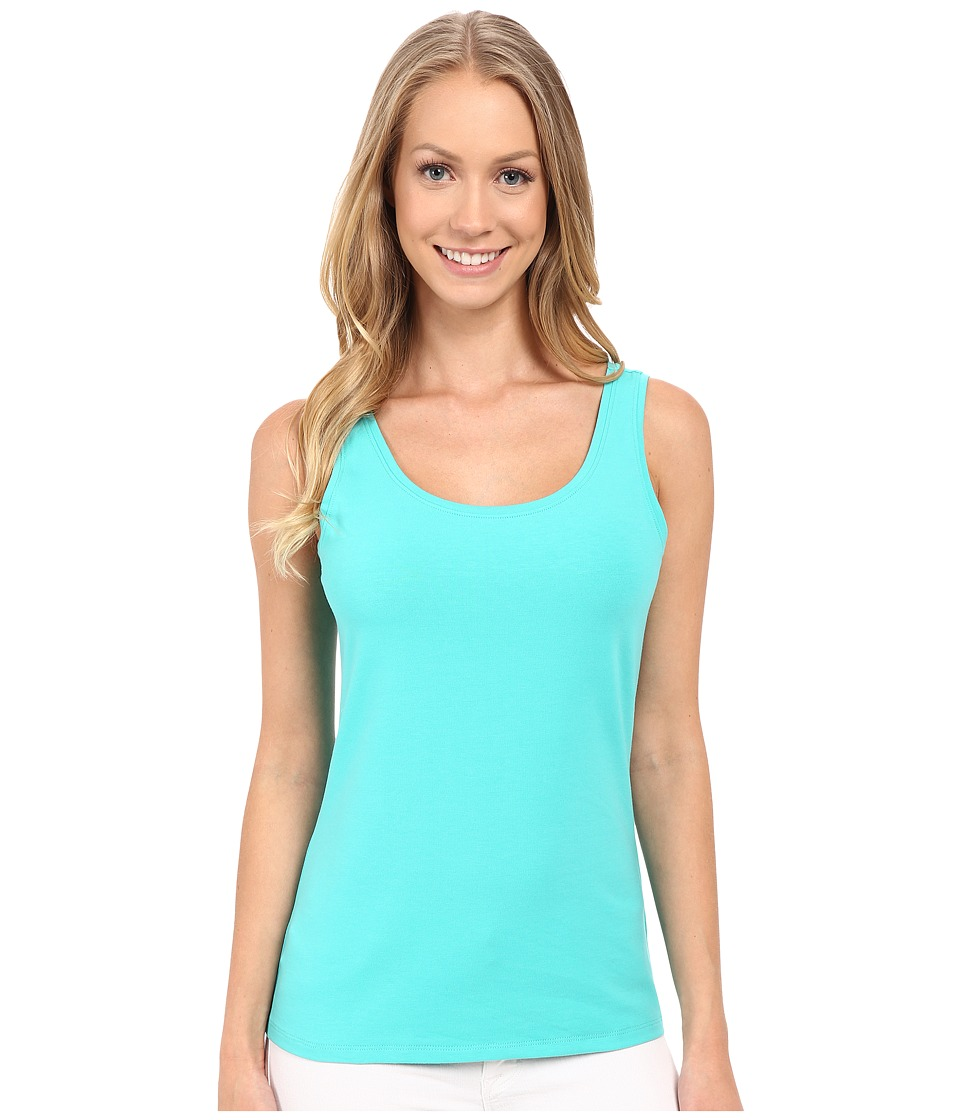 NIC+ZOE - Perfect Tank Top (Aquarium) Women's Sleeveless