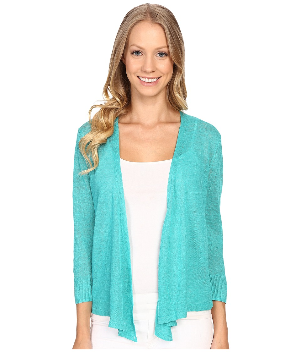 NIC+ZOE - 4 Way Cardy (Aquarium) Women's Sweater