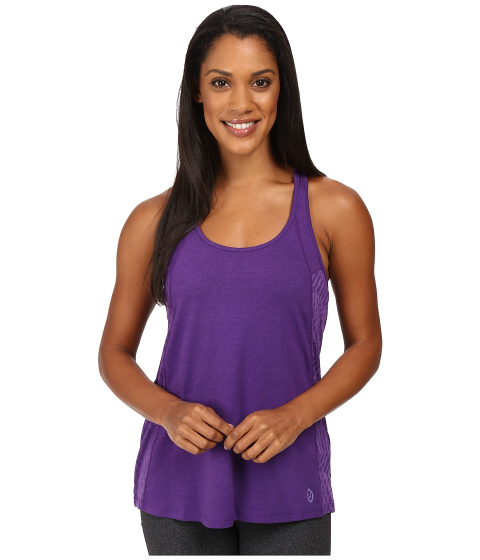 tasc Performance - Falaya Tank Top (Plumberry/Oh My Dash Plumberry Burnout) Women's Sleeveless