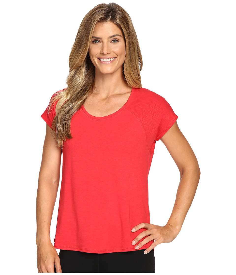 tasc Performance - Zydeco Top (Red Hot) Women's T Shirt