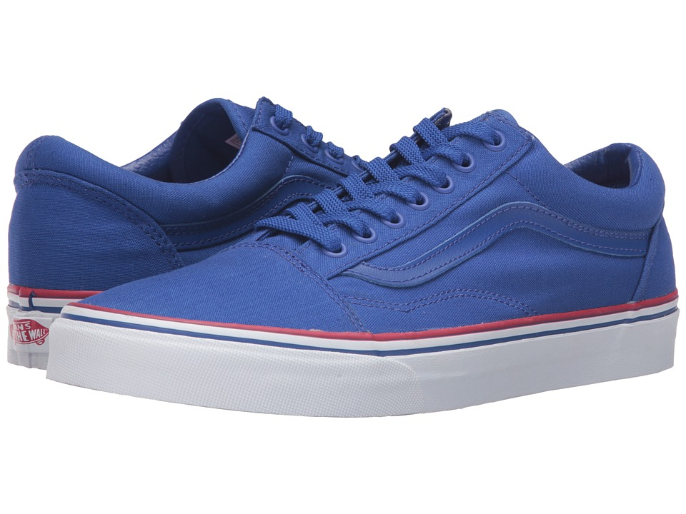 Vans - Old Skool 2016 Games ((Summer 2016) Blue/White/Red) Skate Shoes