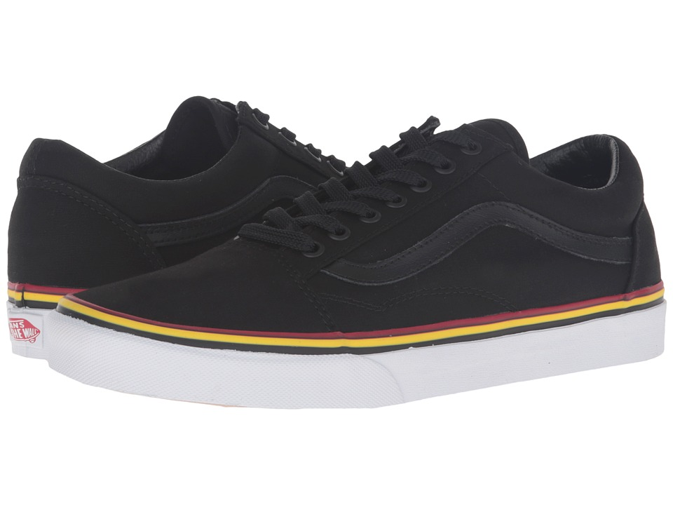 Vans - Old Skool 2016 Games ((Summer 2016) Black/Red/Gold) Skate Shoes