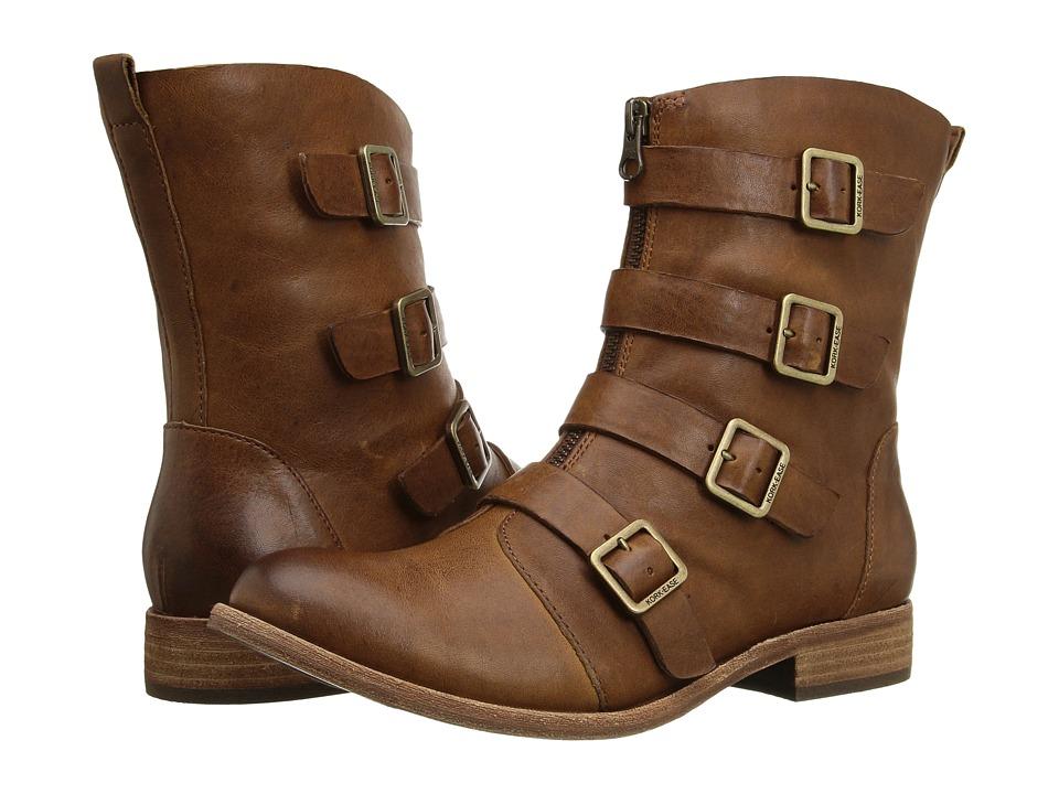 Kork-Ease - Monrovia (Rum/Cognac Full Grain) Women's Dress Zip Boots