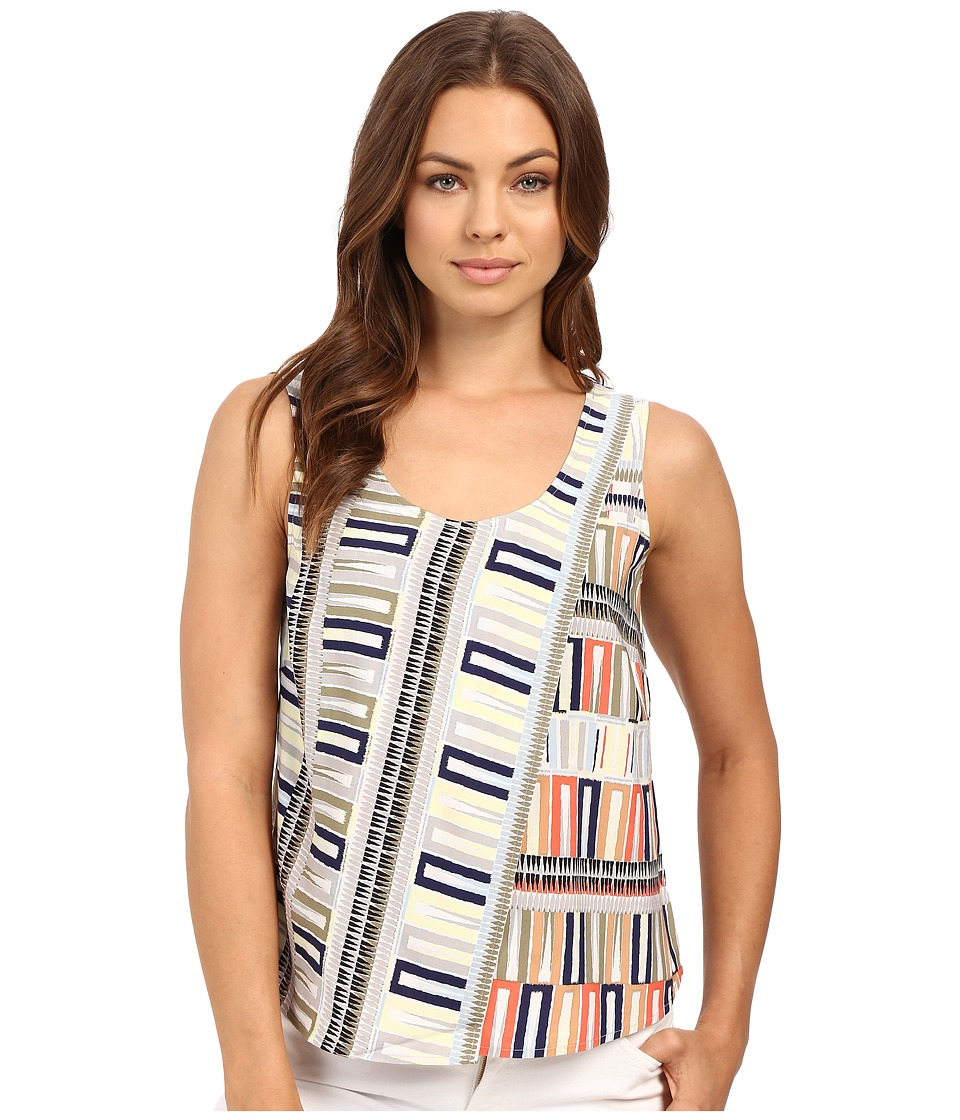 NIC+ZOE - Sahara Squares Tank Top (Multi) Women's Sleeveless