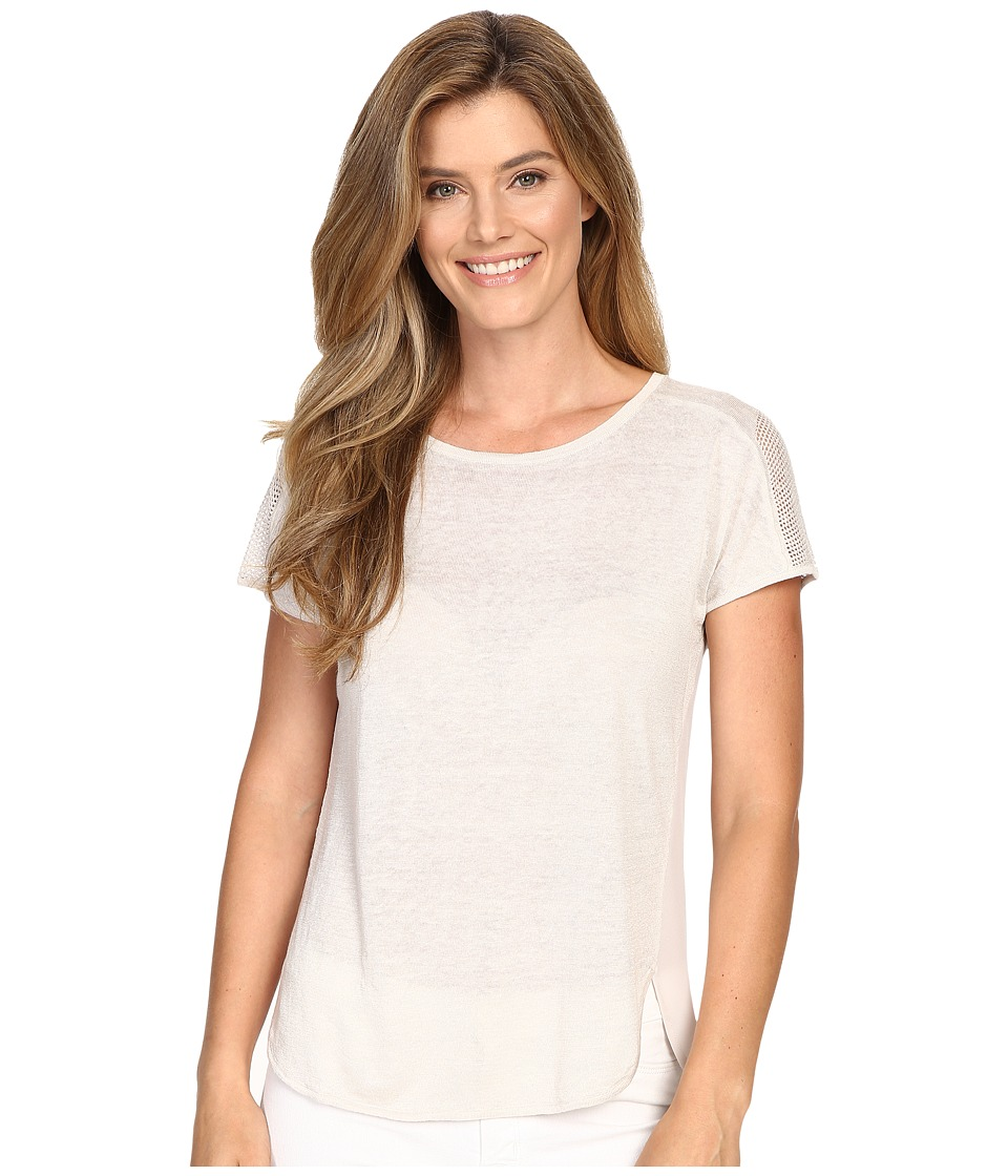 NIC+ZOE - Everlast Tee (Powder) Women's T Shirt