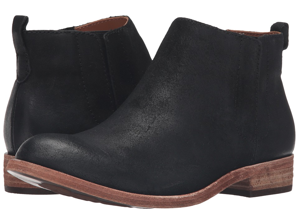 Kork-Ease - Velma (Black Suede) Women's Pull-on Boots