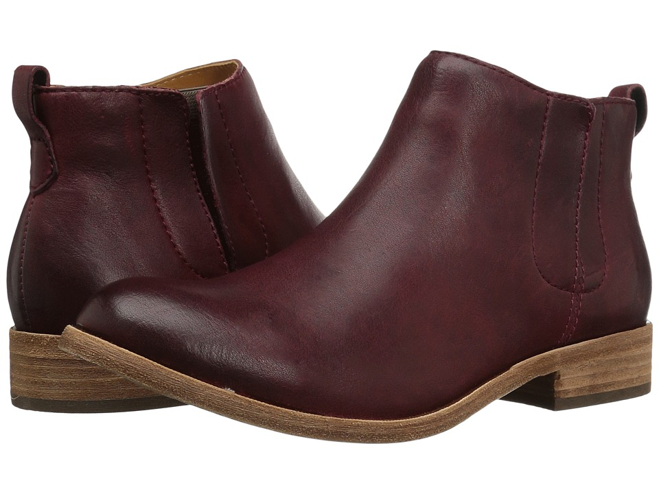 Kork-Ease Velma (Burgundy Full Grain) Women