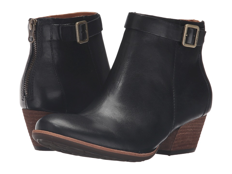 Kork-Ease - Maddelena (Black Full Grain) Women's Pull-on Boots