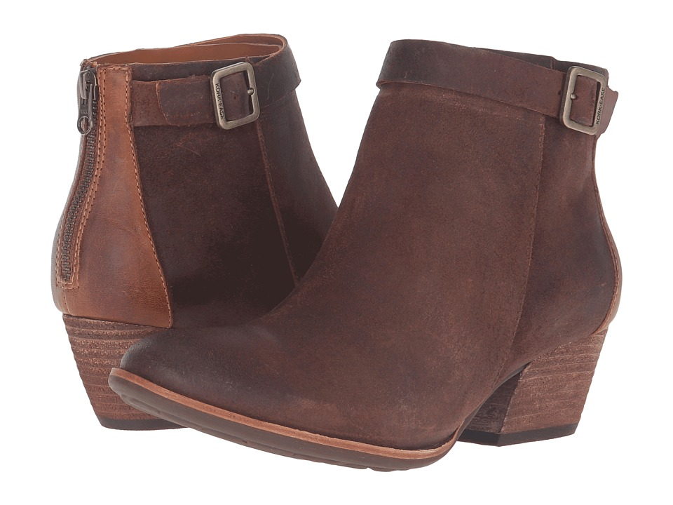 Kork-Ease Maddelena (Tenne/Dark Brown Combo) Women