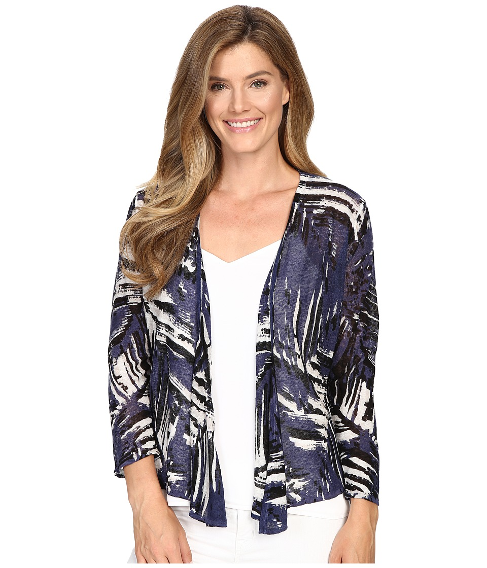 NIC+ZOE - Palm Leaf Cardy (Multi) Women's Sweater