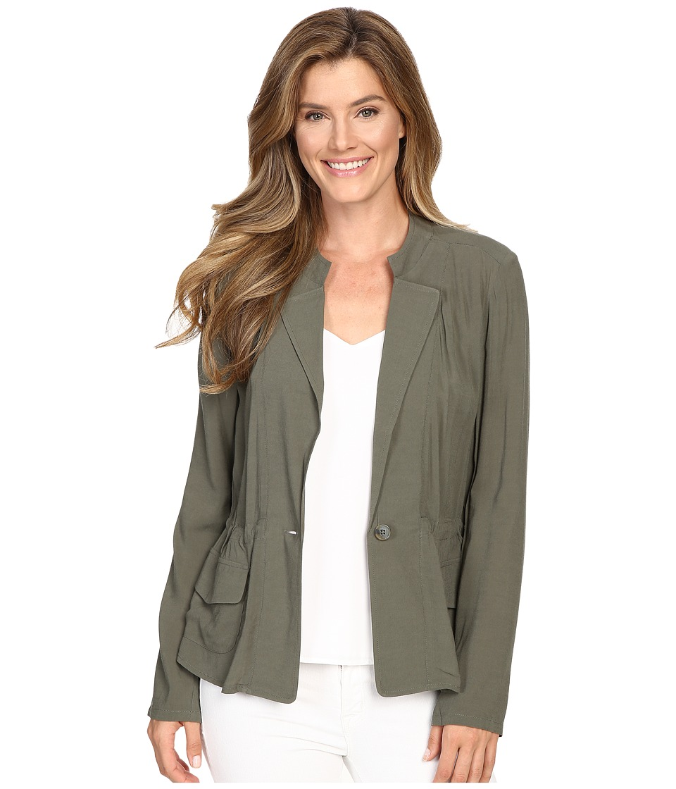 NIC+ZOE - Femme Utility Jacket (Dusty Olive) Women's Jacket
