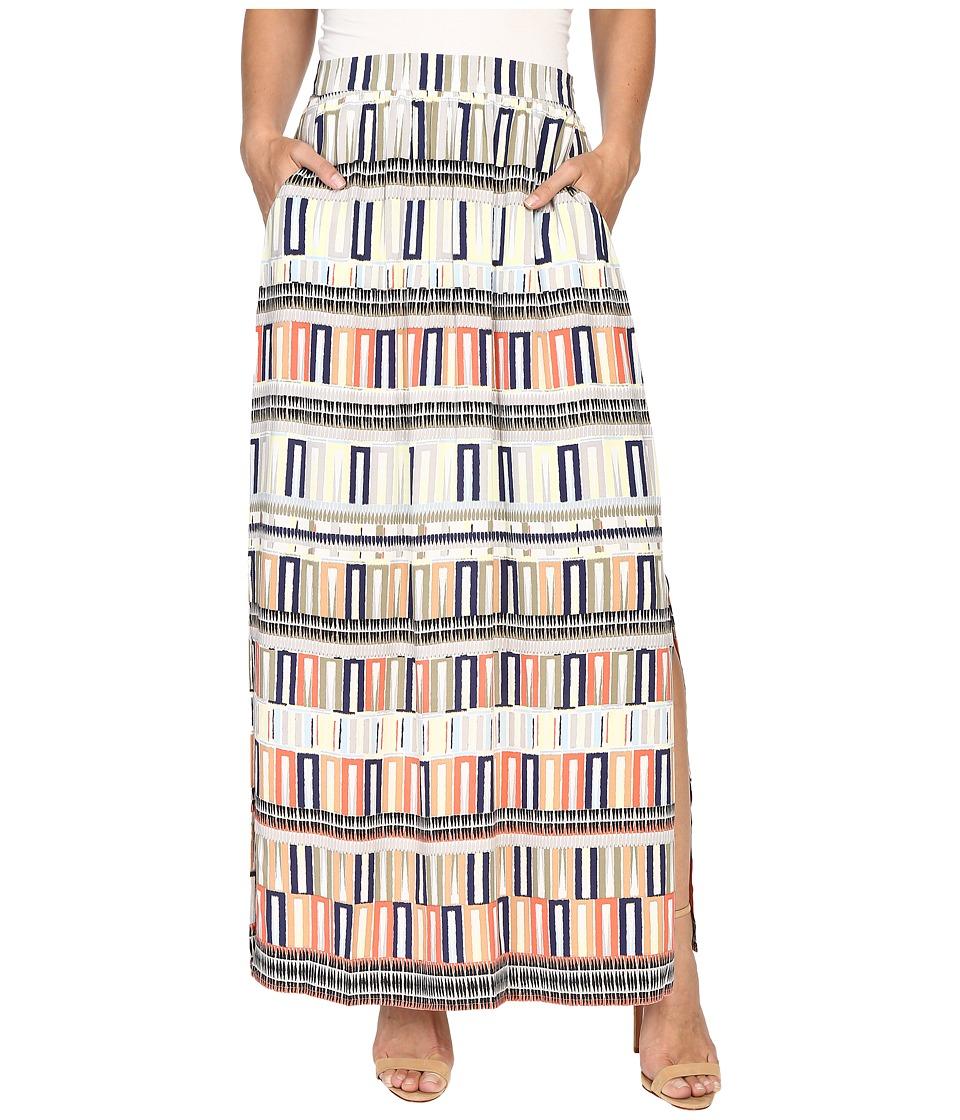 NIC+ZOE Sahara Squares Skirt (Multi) Women