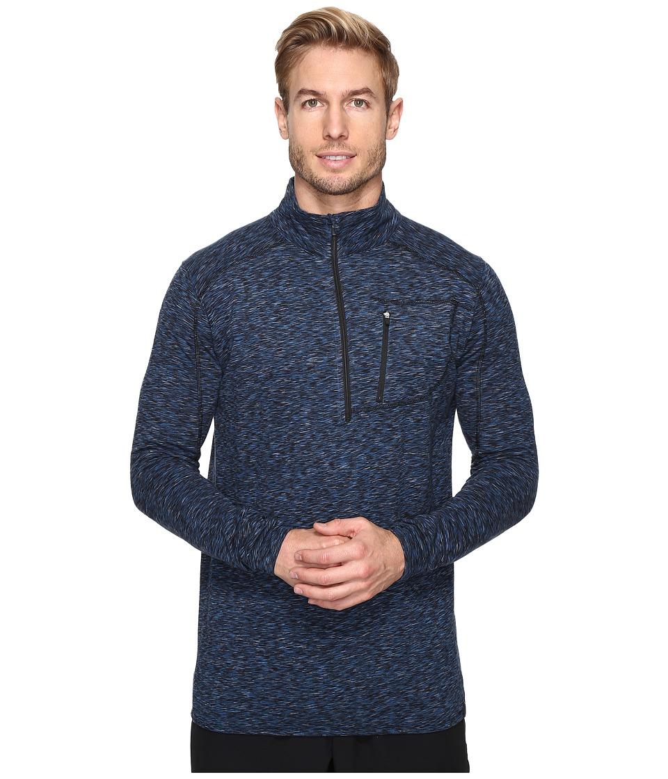 tasc Performance - Tahoe Fleece 1/2 Zip (Rainstorm Heather) Men's Long Sleeve Pullover