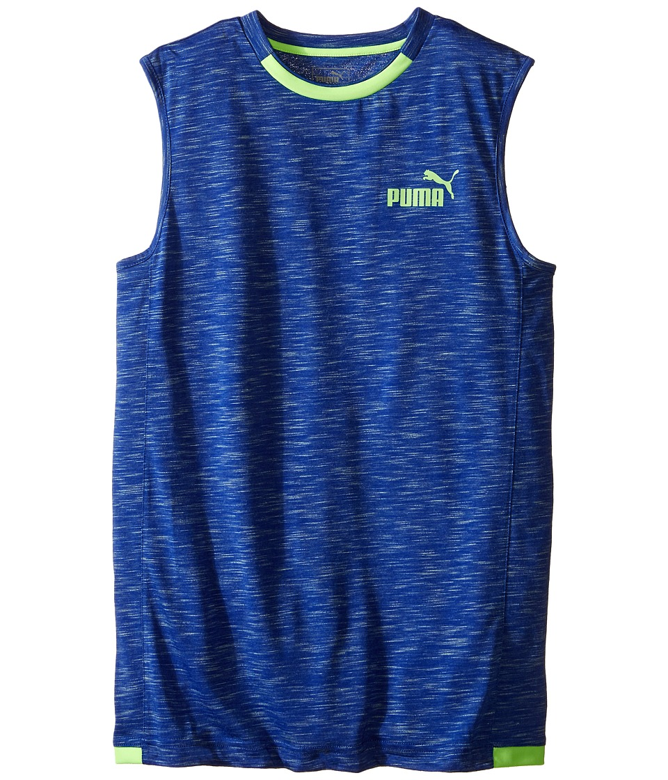 Puma Kids - No. 1 Logo Muscle Shirt (Big Kids) (Royal Blue) Boy's Sleeveless