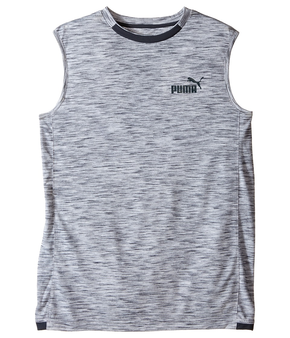 Puma Kids - No. 1 Logo Muscle Shirt (Big Kids) (PUMA White) Boy's Sleeveless